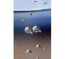 Magic Bubble World II Photographic Print