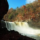 Cumberland Falls 2 by kathy s gillentine