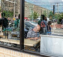 Reflections in a Tailor's Window by Hugh Smith