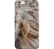 Winter's Patterns on the Beach iPhone Case/Skin