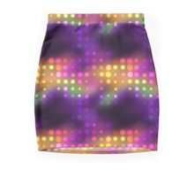 Disco Pattern Mini Skirt