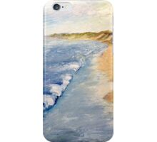 Lake Michigan with Whitecaps iPhone Case/Skin