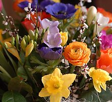 A Bouquet full of Spring by vbk70