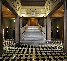 Freemasons Hall - Foyer. Adelaide. South Australia by wotzisname