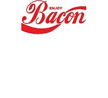 Enjoy Bacon Mens Womens Hoodie / T-Shirt Photographic Print