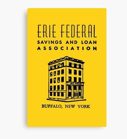 Erie Federal Savings & Loan Canvas Print