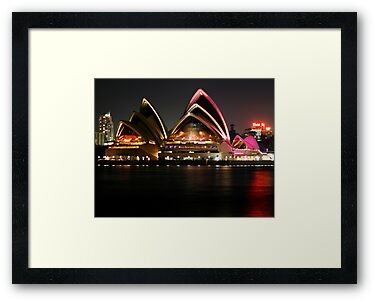 Sydney Opera House. Australia by Bryan Freeman