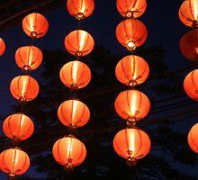 red chinese lights by gretalorenz
