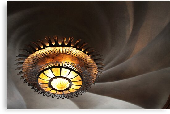 Gaudi's ceiling by Robyn Lakeman