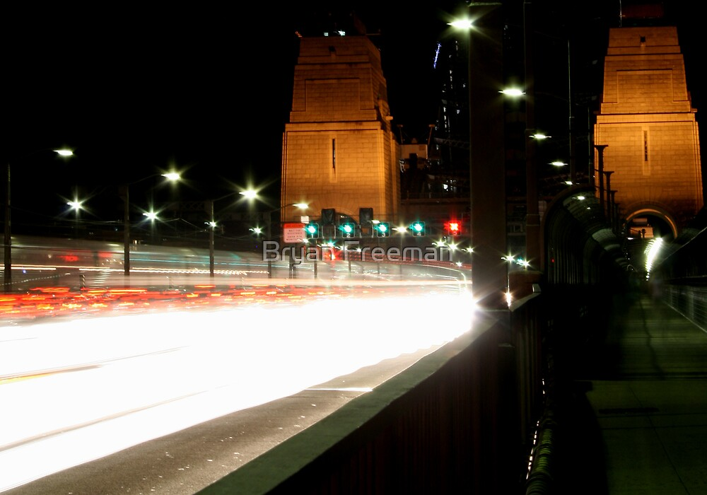 Plasma Fusion - Sydney Harbour Bridge, Australia by Bryan Freeman