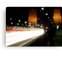 Plasma Fusion - Sydney Harbour Bridge, Australia Canvas Print