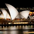 Sydney Opera House - Australia by Bryan Freeman