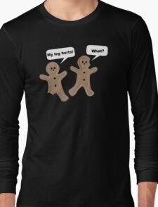 Gingerbread Mens Womens Hoodie / T-Shirt Long Sleeve T-Shirt