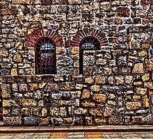 Fortress Kalemegdan Stairs Belgrade by stockfineart