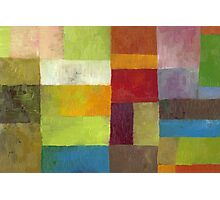Abstract Color Panels lV Photographic Print