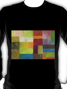 Abstract Color Panels lV T-Shirt