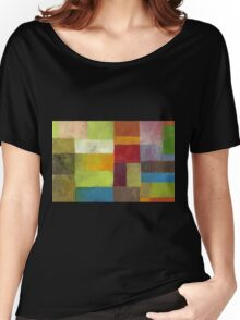 Abstract Color Panels lV Women's Relaxed Fit T-Shirt