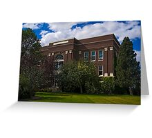 JUDITH BASIN COUNTY COURT HOUSE Greeting Card