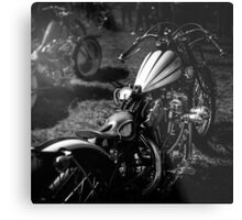 Classic Custom Motorcycles Metal Print