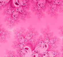 Soft Pink Frost of Morning Fractal by Rose Santuci-Sofranko