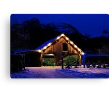 Christmas is Close, Austria Canvas Print