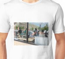 Reflections in a Tailor's Window Unisex T-Shirt