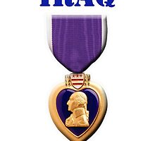 Purple Heart - Iraq by Buckwhite