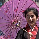 Colourful Umbrella by dhphotography