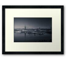 Stockholm in Progress Framed Print