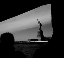 The Liberty Statue by cyrilbitton