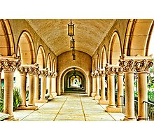 Columns of Casa Del Prado Photographic Print