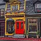 Red Door on Bellevue Avenue by balexander101