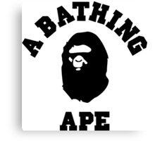 Bathing Ape Canvas Print