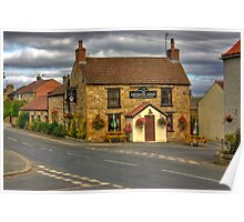Milbank Arms - Well near Bedale Poster