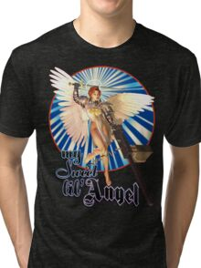 My Sweet Lil' Angel Tri-blend T-Shirt