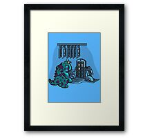 Doctor Sulley Framed Print