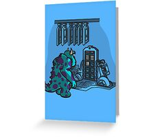Doctor Sulley Greeting Card