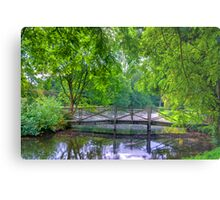 Latice Bridge Metal Print