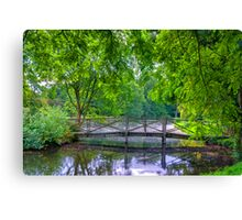 Latice Bridge Canvas Print