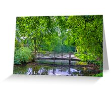 Latice Bridge Greeting Card