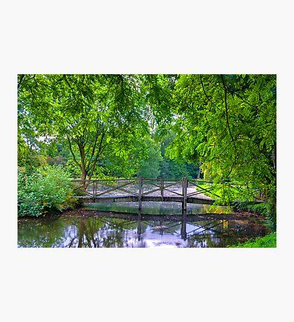Latice Bridge Photographic Print