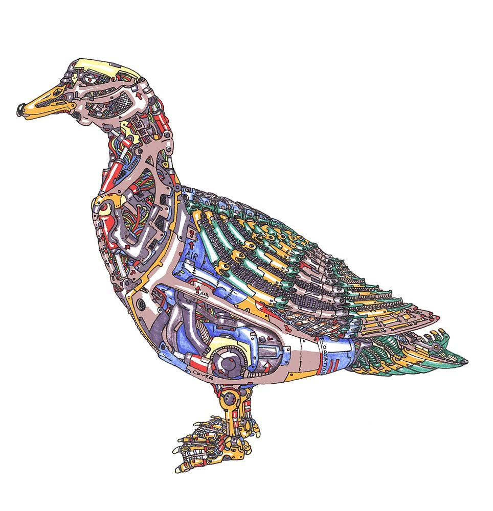 Mech Duck by jcwdesigns
