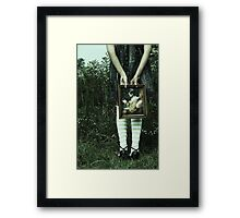 it's all so simple  Framed Print