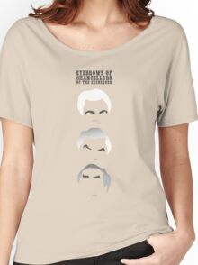 Eyebrows of Chancellors of the Exchequer Women's Relaxed Fit T-Shirt