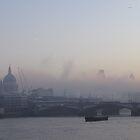 St. Pauls, early morning mist by leemcpherson