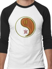 Gemini & Tiger Yang Wood Men's Baseball ¾ T-Shirt