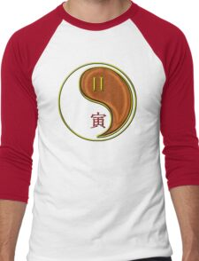 Gemini & Tiger Yang Wood Men's Baseball ¾ T-Shirt