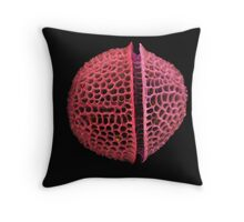 ShellsandScales Throw Pillow