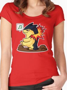 Typhlosion Women's Fitted Scoop T-Shirt