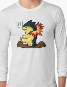 Typhlosion Long Sleeve T-Shirt